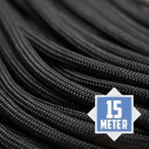 Charcoal Grey 550 type 3 paracord Ø 4mm (15m)