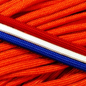 International Orange 550 type 3 paracord Ø 4mm (15m)