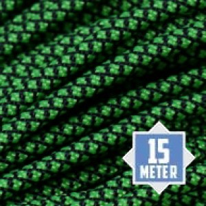 Neon Green Diamonds 550 paracord (15m)
