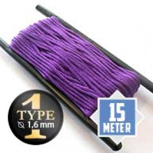 Acid purple type I paracord Ø 2mm (15m)