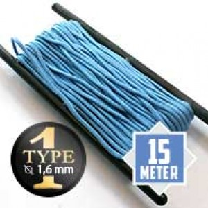 Baby Blue type I paracord Ø 2mm (15m)