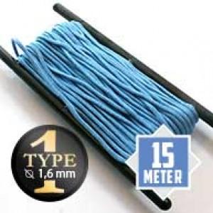 Baby Blue type I paracord Ø 2mm (15m)