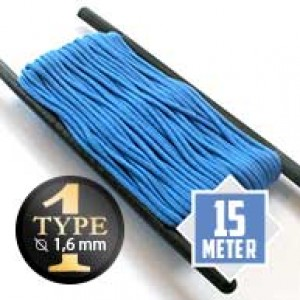 Colonial blue type I paracord Ø 2mm (15m)