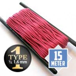 Fuchsia type I paracord Ø 2mm (15m)