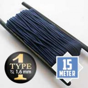 Midnight Blue type I paracord Ø 2mm (15m)