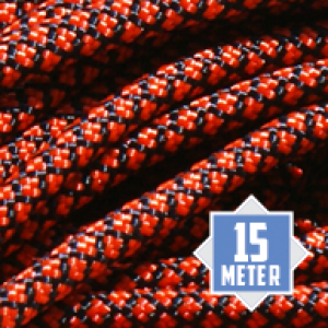 Neon Orange Diamonds 550 paracord type 3 Ø 4mm (15m)