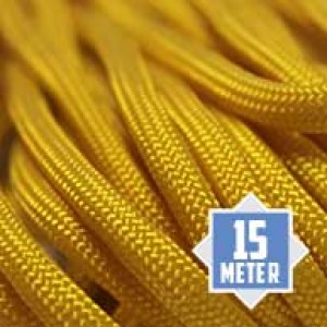 Yellow 550 type 3 paracord Ø 4mm (15m)
