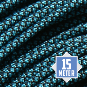 Neon Turquoise Diamonds 550 paracord (15m)