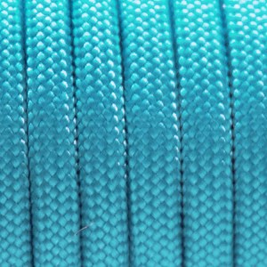 Neon Turquoise 550 type 3 paracord Ø 4mm (15m)