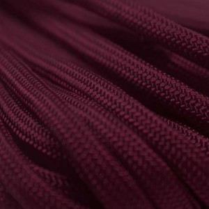 Burgundy 550 type 3 paracord Ø 4mm (15m)