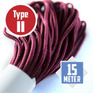 Burgundy type II CreaCore© Ø 3mm (15m)