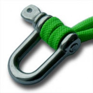 RVS Harpsluiting (D-shackle) 8mm