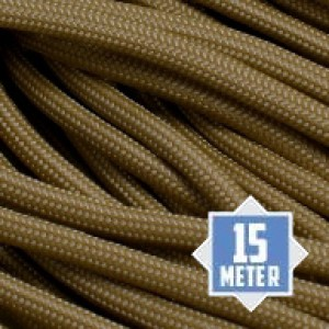 Tan 380 550 type 3 paracord Ø 4mm (15m)