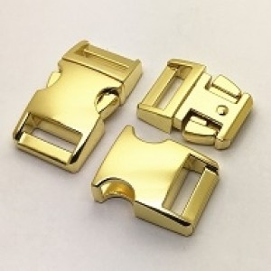 Gouden metalen buckle 5/8 (M)