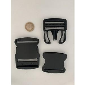 Sterke buckle zwart - YKK | 50mm