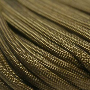 Khaki 550 type 3 paracord Ø 4mm (15m)