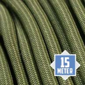 Moss (green) 550 type 3 paracord Ø 4mm (15m)