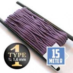 Lilac type I paracord Ø 2mm (15m)