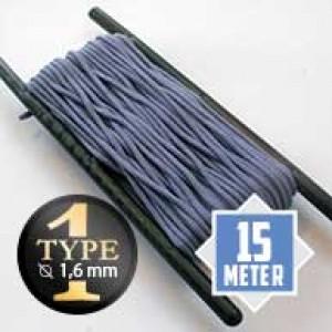 Purple Lavender type I paracord Ø 2mm (15m)