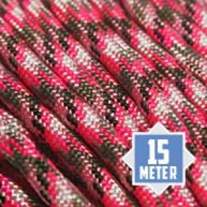 Pretty in Pink 550 type 3 paracord Ø 4mm (15m)
