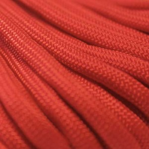 Scarlet red 550 type 3 paracord Ø 4mm (15m)
