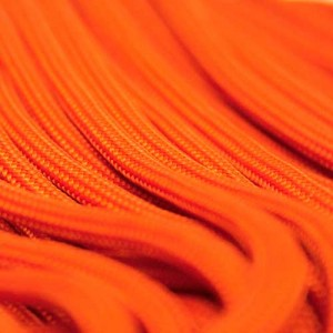 Neon Orange 550 type 3 paracord Ø 4mm (15m)