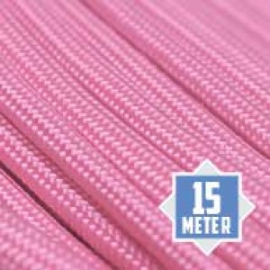 Rose Pink 550 type 3 paracord Ø 4mm (15m)