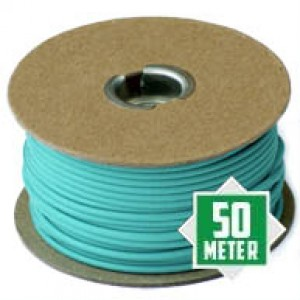 Turquoise Spoeltje 550 type 3 paracord Ø 4mm (50m)