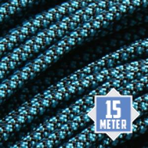 Neon Turquoise Diamonds 550 paracord (15m)